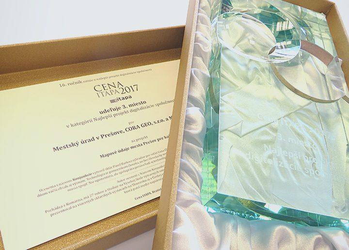 Významné ocenenie ITAPA 2017