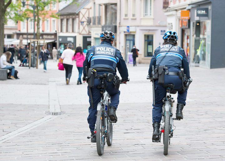Mobilná aplikácia pre mestských policajtov