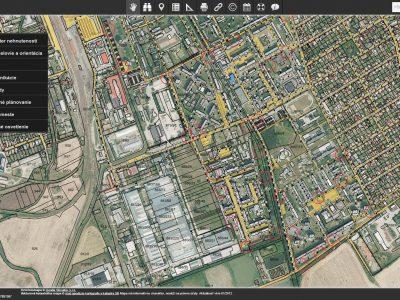 CG WebGIS v novom šate